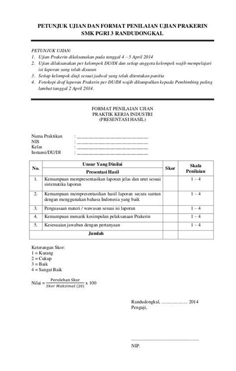format laporan quick wins contoh laporan prakerin di dinas sosial laporan 7