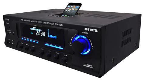 pyle home pt270aiu 300 watt stereo receiver am