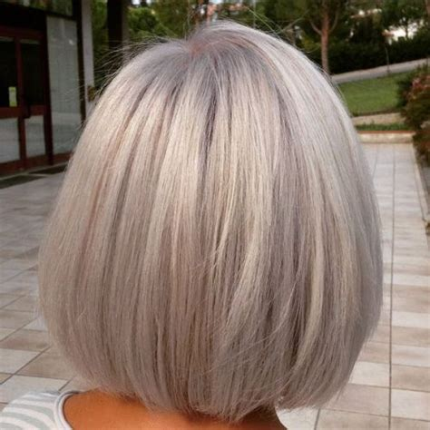 bangs and gray hair 1000 images about hair on pinterest bobs waterfall