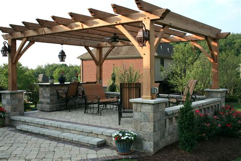 Patio Pergola by 20 Awesome Pergola Design Ideas Dapoffice