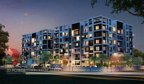 Home Design 3d Outdoor Garden apartment design rendering 3d contemporary modern