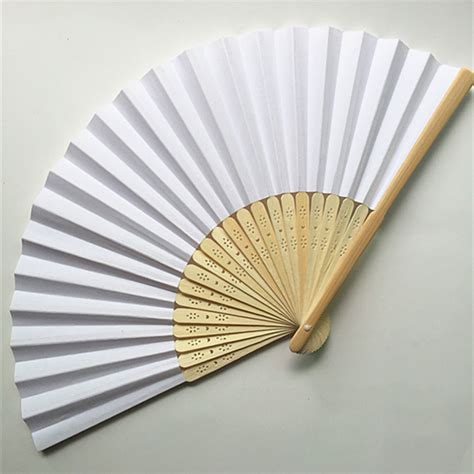 Handmade Paper Fans - dhl free shipping 200 pcs lot silk fan handmade wedding