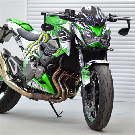 Monster Aufkleber Kawasaki by 4moto Shop Kawasaki Z800 Monster