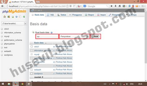 cara membuat view database mysql cara membuat database mysql di xp blog husevil