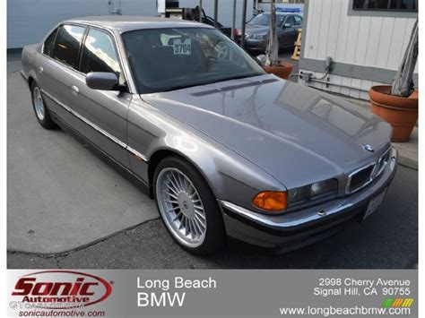 1997 aspen silver metallic bmw 7 series 750il sedan