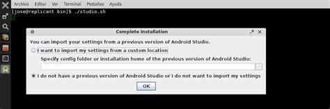install android studio linux android studio 1 0 novedades e instalaci 243 n en gnu linux la mirada replicante