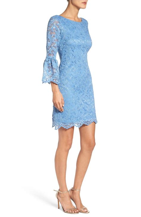 Bell Sleeve Lace Dress bell sleeve dresses for the kentucky derby and