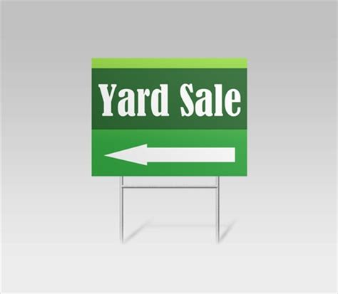 yard sale sign template yard sale signs garage sale signs signazon