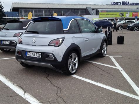 opel ireland joe goes to latvia to check out the new opel adam rocks