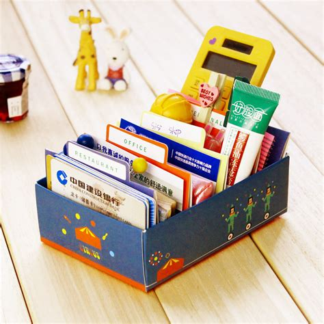 card supplies uk free delivery free shipping diy business card desktop paper storage mini