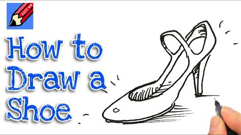 how to draw high heel shoes real easy spoken tutorial