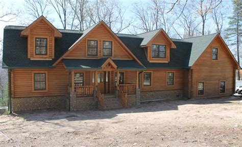 Gambrel House Floor Plans by Wood House Log Homes Log Cabin Company In East Tennessee