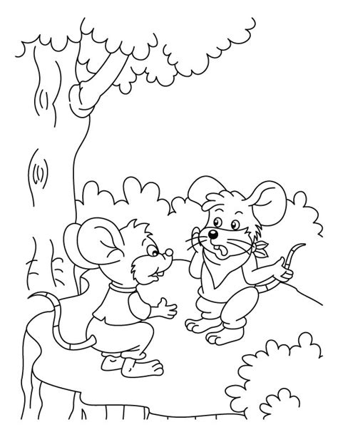 coloring pages lion and mouse panchatantra stories coloring pages murderthestout