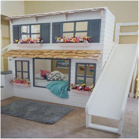 Kinder Haus Bett