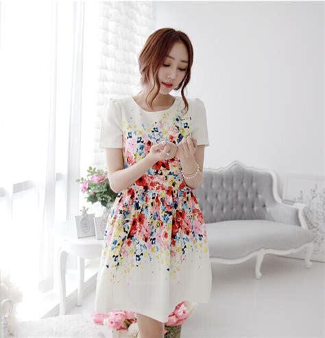 korean dress design latest designs korean cute women clothes printed fashion