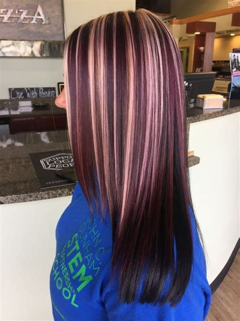 burgundy hair color ideas  hairstyles  maroon hair