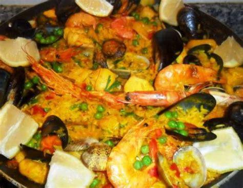 recetas de cocina paella de marisco receta paella de pollo y marisco mis recetas caseras