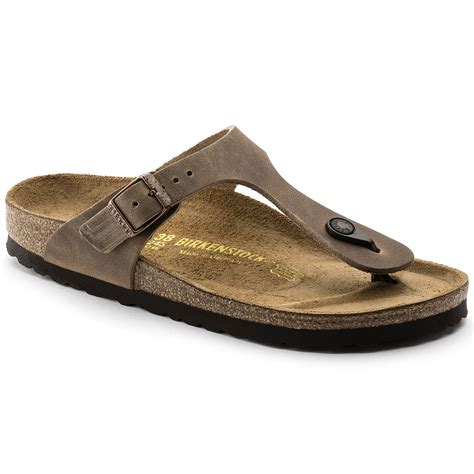 Sandal Gdns Hold Brown gizeh leather tabacco brown shop at birkenstock