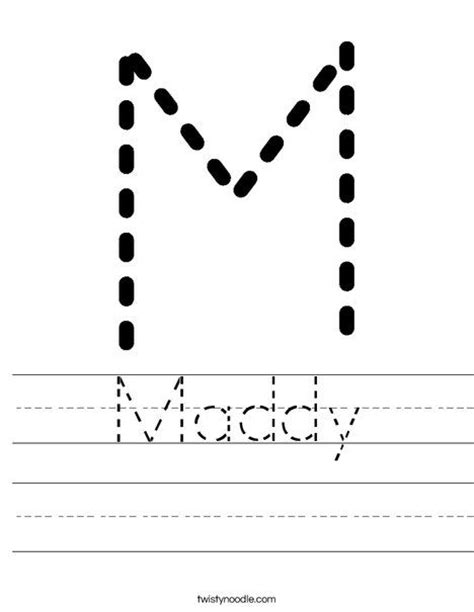 custom printable letter tracing tracing worksheet mdo writing cutting names pinterest