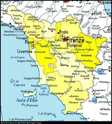map of tuscany map of toscana map toscana italy italy atlas
