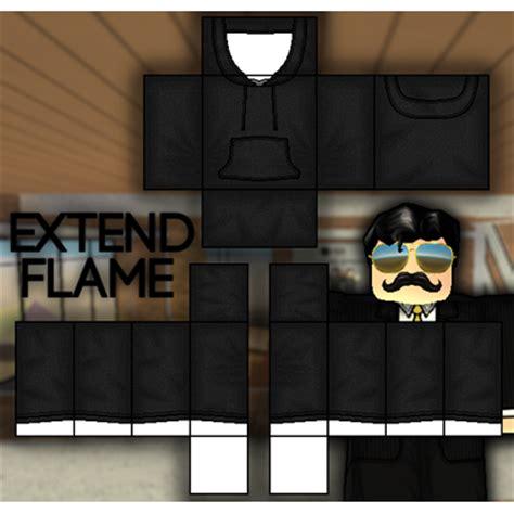 black hoodie template roblox