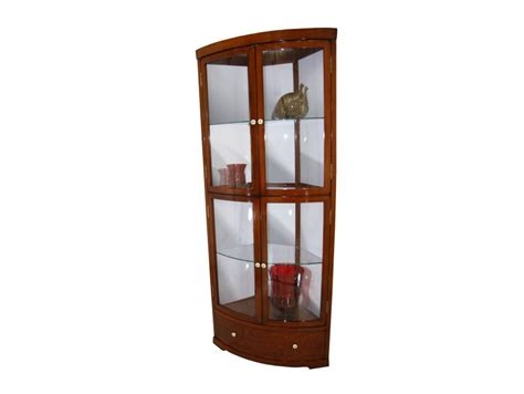 corner display cabinet with drawers corner display cabinet four doors one drawer nepal