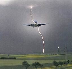 Struck By Lightning Images The Odds Of An Airplane Being Struck By Lightning Quora