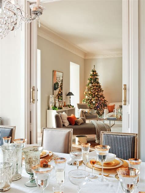 Dining Room Candle Chandelier 5 christmas table setting ideas in different styles