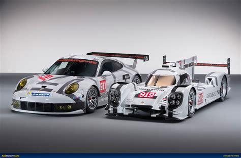 Ausmotive Com 187 Geneva 2014 Porsche 919 Hybrid 911 Rsr