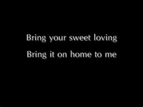bring it on home to me robson jerome with lyrics