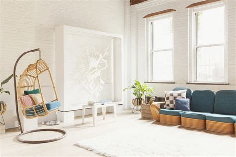comfortable home a chef and a sculptor balance work and home in this elizabeth designed williamsburg loft