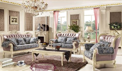 New Listing Carved Romantic European Style Luxury French European Style Living Room Furniture