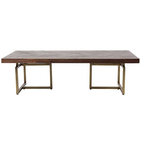 Herringbone Coffee Table Class Herringbone Coffee Table By Cuckooland Notonthehighstreet