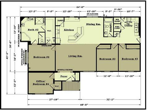 get home blueprints custom modular home floor plans cottage house plans