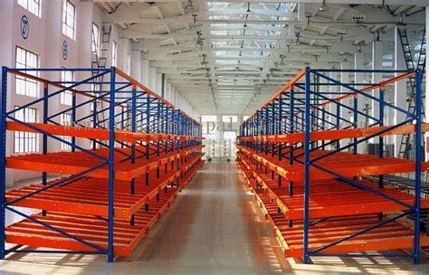 warehouse system carton flow rack metal  picking