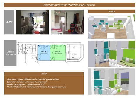 Chambre Pour 2 by Am 233 Nagement D Une Chambre Pour 2 Enfants 171 Slbconception