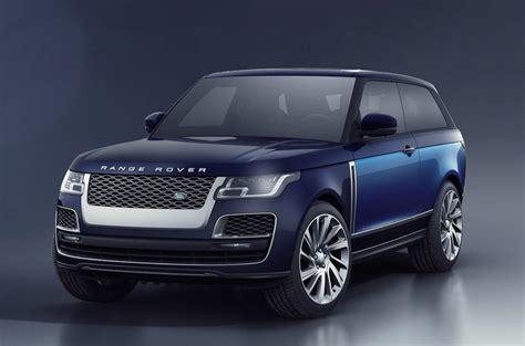 range rover coupe interior range rover unveils luxury sv coupe