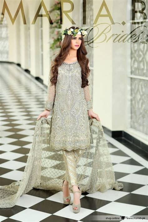 maria b bridal collection wedding and formal dresses colorful embroidered frocks for girls fashion pakistan maria b bridal formal wear collection 2018 for wedding