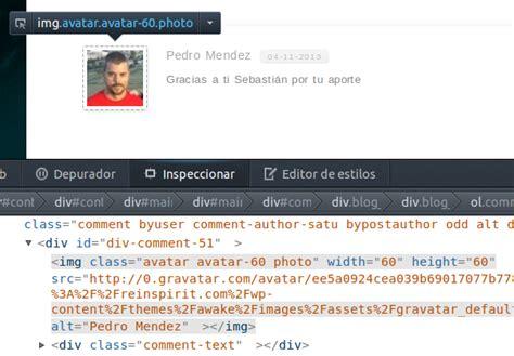 cambiar imagenes html javascript mostrar im 225 genes redondas en los comentarios de wordpress