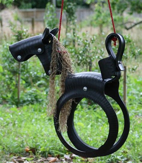 Diy Pony Tire Swing Home Design Garden Architecture