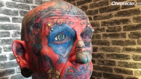 most painful places for a tattoo addict with lighthouse on his manhood reveals last