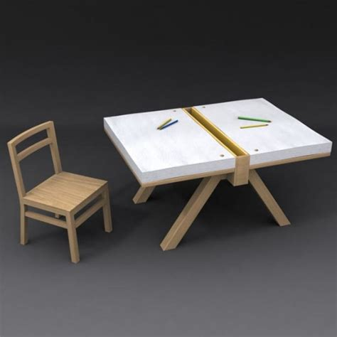 kids art desk home furniture design original drawing table for two kids foglio by