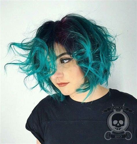 is ombre blue hair ok for 25 best ideas about short dyed hair on pinterest short