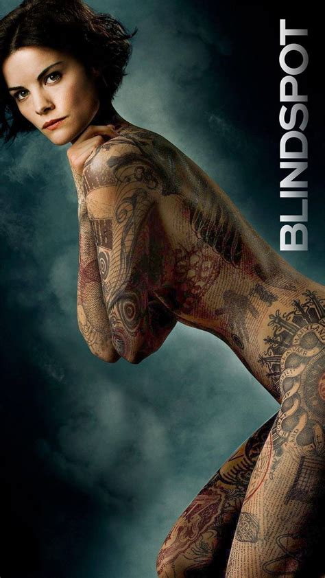 tattoo woman new tv show blind spot tattoos here are more photos of the blindspot