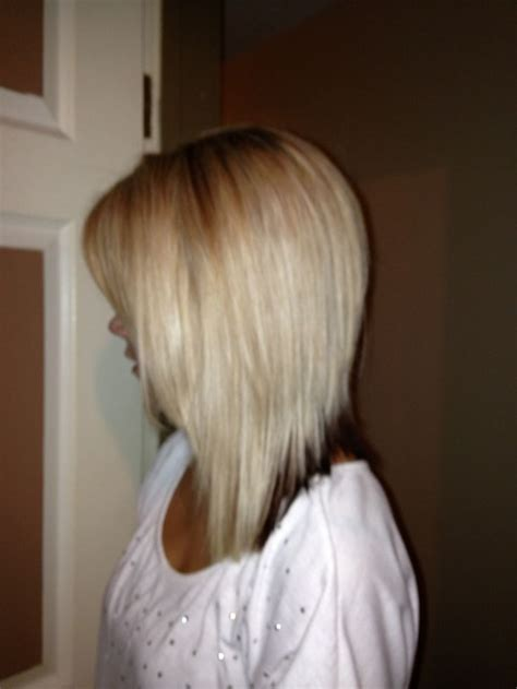 long tapered bob tapered bob long hairstyles short hairstyle 2013