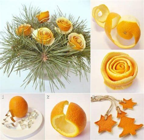 Orange Decorations by Diy Orange Peel Decorations Pictures Photos And Images