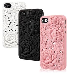 Soft 3d Sculpture Flower Black For Iphone 5 5s T0310 17 best images about phone cases on