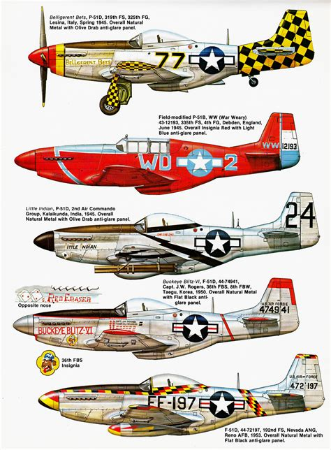 paint scheme p 51 mustang paint schemes p free engine image for user