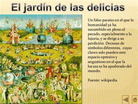 el jardn de las el jardin de las delicias