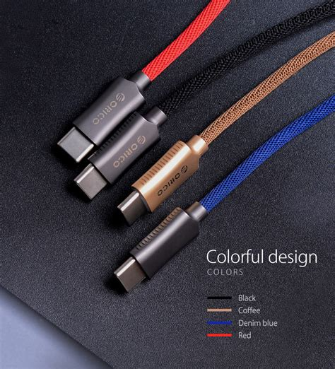 Slc Orico Hcu 10 Usb2 0 Type A To Type C Charge Sync Cable 1 Met orico type c data cable hcu 10 v1
